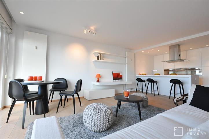 Instapklaar appartement op de ZEEDIJK te Knokke, dichtbij het Rubensplein.