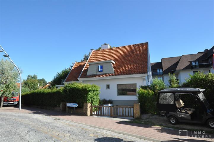 Uitzonderlijke villa te huur in het centrum van Knokke!