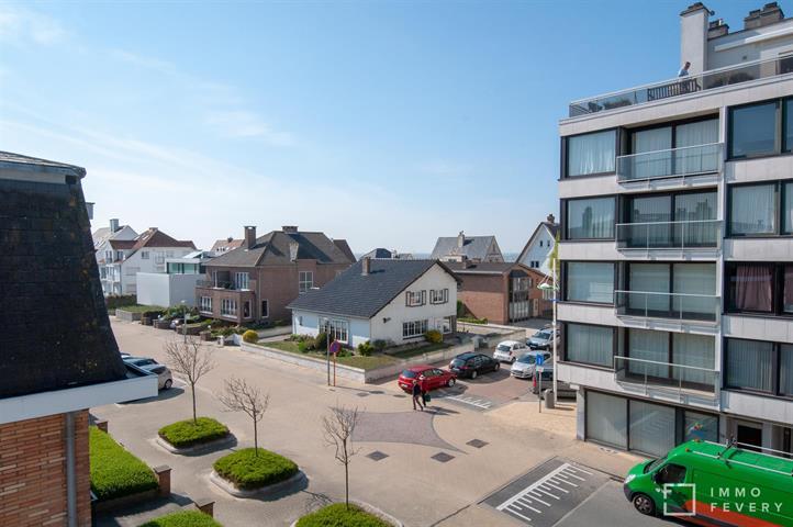 Hoekappartement vlakbij het strand in Zeebrugge!