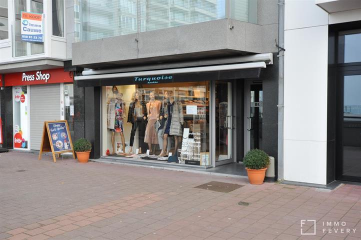Handelszaak gelegen op het bruisende Rubensplein te Knokke.